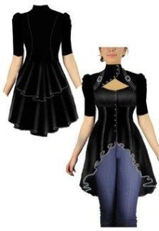 Top Gothic Fashion Tips To Keep You In Style. As trends change, and you age, be willing to alter your style so that you can always look your best. Consistently using good gothic fashion sense can help Steampunk Clothing, Steampunk Fashion, Gothic Fashion, Gothic Clothing, Gothic Jewelry, Estilo Hippie, Gothic Outfits, Fashion Dresses, Fashion Clothes