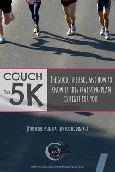 Couch to 5K: The good, the bad, and how to know if this training plan is right for you.  #Run #5K #Marathon #halfmarathon #fitfluential