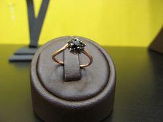 Silver finger tip ring