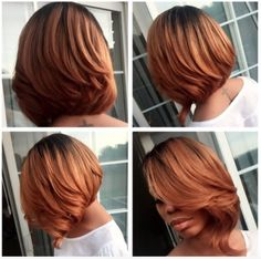 New Bob Haircuts 2019 & Bob Hairstyles 25 Bob Hair Trends for Women - Hairstyles Trends Sew In Bob Hairstyles, My Hairstyle, Pretty Hairstyles, Black Hairstyles, Fashion Hairstyles, Latest Hairstyles, Love Hair, Great Hair, Gorgeous Hair