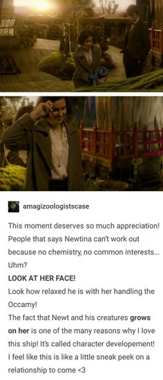 Considering they do end up together according to the Fantastic Beasts and Where to Find Them book with Newt's autobiography at the end...