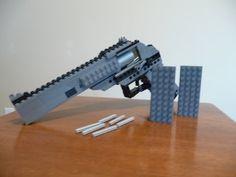 Lego Mini Crossbow (With Tutorial) - YouTube