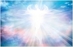 Heavenly angelic spirit with wings. Sky clouds with bright light rays - Buy this stock illustration and explore similar illustrations at Adobe Stock Spiritual Awareness, Spiritual Health, Spiritual Enlightenment, Spirituality, Spiritual Power, Spiritual Meaning Of Numbers, Law Of Karma, Signs From The Universe, Life Path Number
