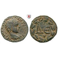Römische Provinzialprägungen, Seleukis und Pieria, Antiocheia am Orontes, Elagabal, Bronze 218-222, ss/vz: Seleukis und Pieria,… #coins
