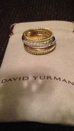 DAVID YURMAN RING @Michelle Flynn Flynn Flynn Coleman-HERS
