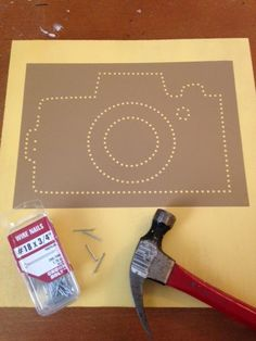 Silhouette Cameo, DIY, do it yourself, string art, vinyl
