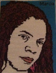 Cross Stitch Picture of me M (Marcia)