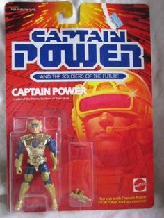 Vintage Captain Power Soldiers of The Future Action Figure Mattel 1980's Toy | eBay