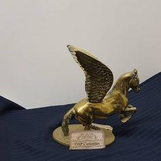 Curiosity Shop, Pegasus, Brass, Antiques, Vintage, Instagram, Up Dos, Tattoos, Antiquities
