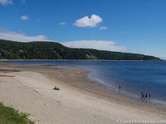 Aujourd'hui, je vous emmène à la découverte de 3 petites villes de la région du Saguenay au Québec. Le Saguenay est, comme son nom l'indique, la région sit Fjord, Canada, Saint Jean, Blog Voyage, Beach, Water, Hui, Outdoor, Comme