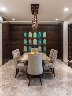 54 Ideas Wall Design Photo Room Decor For 2019 Home Room Design, Dining Room Design, Home Interior Design, House Design, Dining Rooms, Dining Chairs, Ethnic Home Decor, Indian Home Decor, Indian Home Interior