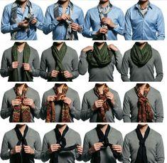 Como usar echarpe