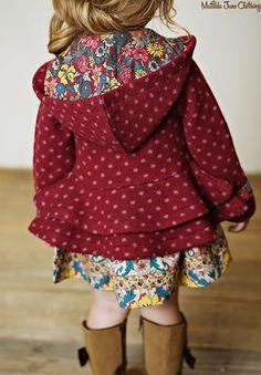 Friends Forever, Fall 2015: Rowan Dress and Devon Coat