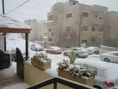 @AmerSweidan: Snowing heavily in #Amman