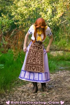 Malon, The Legend of Zelda. Front of the costume. Seriously considering...