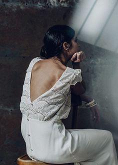 Laure de Sagazan Wedding Dress Collection | Laurent Nivalle | Bridal Musings Wedding Blog 21