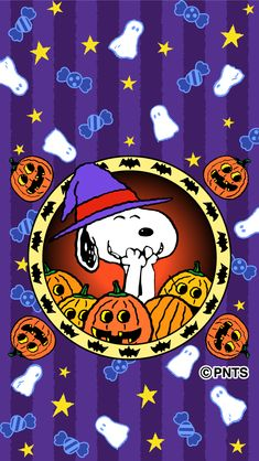 Cartoon Halloween Wallpaper With Tenor, maker of G Snoopy Halloween, Halloween Cartoons, Charlie Brown Halloween, Halloween Doodle, Snoopy Christmas, Halloween Fun, Cute Fall Wallpaper, Holiday Wallpaper, Halloween Wallpaper Iphone