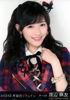 Watanabe Mayu: Mayu Watanabe AKB48 Kibouteki Refrain photographs...