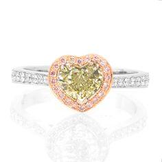 Heart diamond ring <3