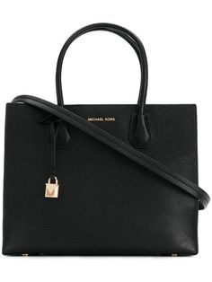 Michael Michael Kors Mercer tote bag - Black Source by farfetch Bags michael kors Michael Kors Luggage, Handbags Michael Kors, Michael Kors Bag, Black Leather Tote, Black Tote Bag, Calf Leather, Bag Women, Michael Kors Collection, Tote Purse