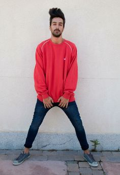 Vintage Puma Red Sweatshirt | TheLucius | ASOS Marketplace