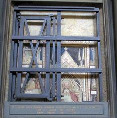 San marco, fi, affreschi lungo la navata, ambiente di niccolò gerini, 1380-1420 ca. 01 - Category:San Marco (Florence) - Church interior - Wikimedia Commons
