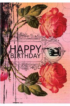 PAPAYA! Art Happy Birthday Small Card - Birthday - Occasions - Papaya!
