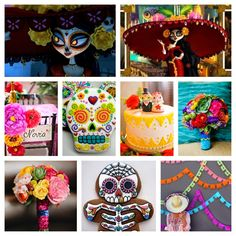 In Flight: The Book of Life Party Inspiration {A Day of the Dead Celebration}