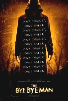 Full Trailer for Horror Thriller 'The Bye Bye Man' Featuring Doug Jones Bye Bye Man Movie, Bye Bye Men, Man Movies, Scary Movies, Movies To Watch, Tv Watch, Awesome Movies, Movies Free, Streaming Vf