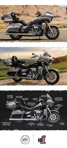 This one will roll out of the factory doors and never stop until it catches the horizon. | 2017 Harley-Davidson Road Glide Ultra #harleydavidsonstreetglide2017 #harleydavidsonbreakout2017 #harleydavidsonroadglideultra #harleydavidsonroadglide2017