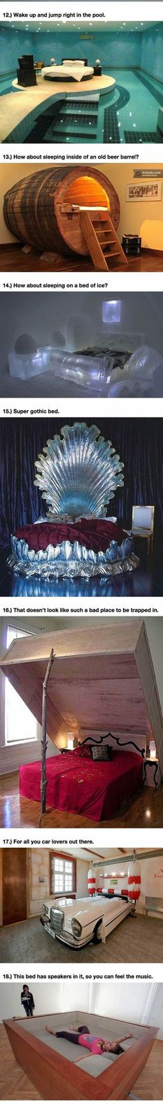 Funny pictures about 25 Amazing Beds Will Make You Wish It Was Nap Time. Oh, and cool pics about 25 Amazing Beds Will Make You Wish It Was Nap Time. Also, 25 Amazing Beds Will Make You Wish It Was Nap Time photos. Dream Rooms, Dream Bedroom, Pool Bedroom, Bedroom Bed, Bed Rooms, Awesome Bedrooms, Cool Rooms, My New Room, My Room