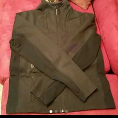 Lululemon Jacket Good condition,clean,I don't see the size but I know is 10,black lululemon athletica Jackets & Coats