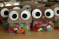 owl+favor+gift+bags+to+make | Dicas de como economizar e planejar a festa de aniversário infantil
