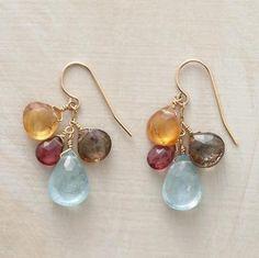 idea for making earrings.