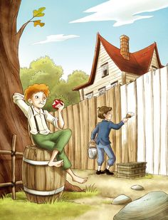 Tom Sawyer's Adventures by roby-boh on DeviantArt