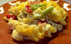 Hatch Green Chile Macaroni and Cheese|Recipes and Ramblins with The Tumbleweed Contessa #yuckstopshere #stoptheyuck