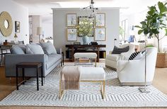 Last week's room redo winner is up!  check out all the links on the blog or sign up with  @liketoknow.it http://liketk.it/2oCRx to get the links emailed to you   from @onekingslane #liketkit #roomredo #livingroom #livingroomdesign #CopyCatChic