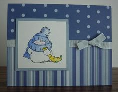 Little Snowy From Penny Black by deeth1 - Cards and Paper Crafts at Splitcoaststampers