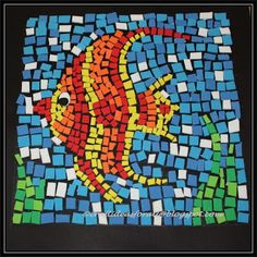 Craft Ideas For All Foam Mosaic Art