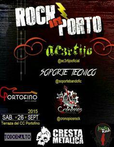 """Portofino Bar & Lounge presenta: """"Rock In Porto"""" http://crestametalica.com/events/portofino-bar-lounge-presenta-rock-in-porto/ vía @crestametalica"""