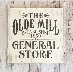 Hey, I found this really awesome Etsy listing at https://www.etsy.com/listing/473811256/general-store-sign-rustic-farmhouse-sign