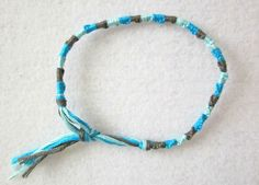 3-color spiral friendship bracelet :: 6-step tutorial  #handmade #jewelry #DIY