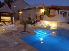 Villa Jardula with pool Brela Croatia