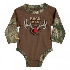 24e8d29a56 Rack Man Infant Body Suit - Male Kids