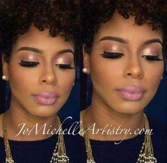 Trendy wedding makeup looks black women beautiful 35 ideas Flawless Makeup, Gorgeous Makeup, Glam Makeup, Love Makeup, Skin Makeup, Makeup Lipstick, Makeup Tips, Makeup Case, Makeup Ideas