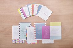 Becky's Quotes theme cards.  Project Life by Becky Higgins