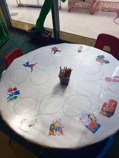 Cartoon speech bubbles writing area speaking/listening as well Eyfs Activities, Nursery Activities, Writing Activities, Classroom Activities, Jolly Phonics Activities, Talk 4 Writing, Writing Area, Kindergarten Literacy, Early Literacy