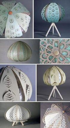 Mais Design Por favor - MoreDesignPlease - Laser Cut Lâmpadas by Maria Godinho