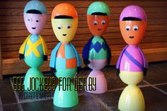Egg Jockeys for Derby by Craft E Magee by E. Magee