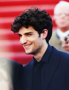 Actor Louis Garrel attends the premiere for Un Chateau en Italie during the 66th Annual Cannes Film Festival at Palais des Festivals on May 20, 2013 in Cannes, France.